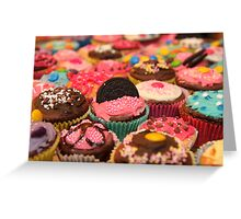 Cupcake Rainbow Greeting Card