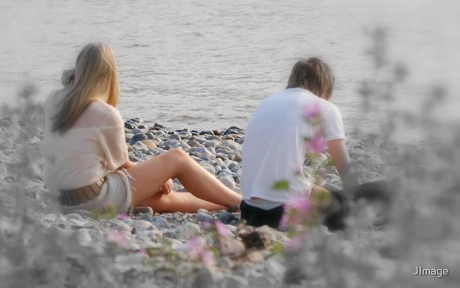 Beach Romance by JImage