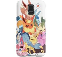 eevee cool evolutions design  Samsung Galaxy Case/Skin