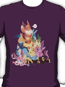 eevee cool evolutions design  T-Shirt