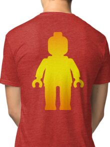 Minifig [Large Golden], Customize My Minifig Tri-blend T-Shirt