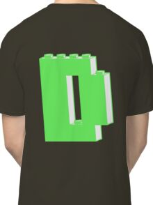 THE LETTER D, Customize My Minifig Classic T-Shirt