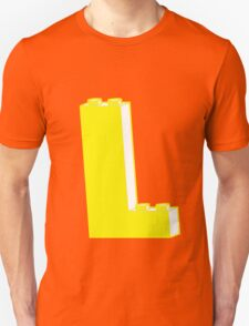 THE LETTER L, Customize My Minifig T-Shirt