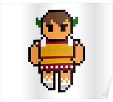 Pixel Caeser Poster