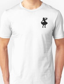 Oh Honey, You KNEW!! (Black Silhouette 2) Unisex T-Shirt
