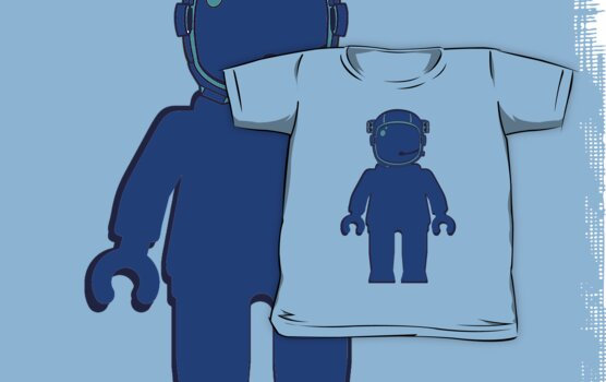 Banksy Style Astronaut Minifigure by Customize My Minifig