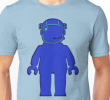 Banksy Style Astronaut Minifigure Unisex T-Shirt