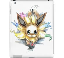 eevee with many tails evolutions iPad Case/Skin