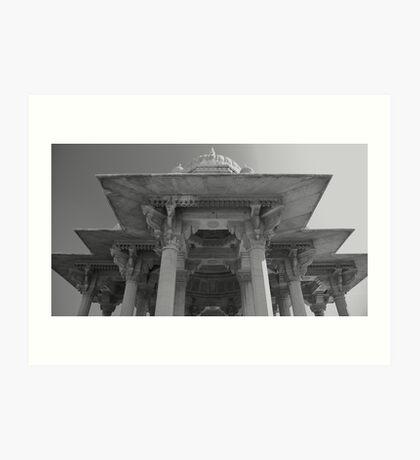 Maharani Ki Chhatri: Cenotaphs of the Queens of Jaipur Art Print