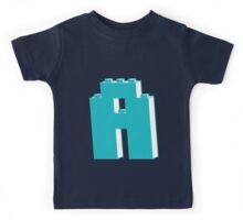 THE LETTER A, Customize My Minifig Kids Tee