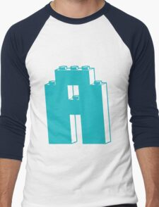 THE LETTER A, Customize My Minifig Men's Baseball ¾ T-Shirt