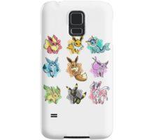 eeve's evolutions mosaic Samsung Galaxy Case/Skin