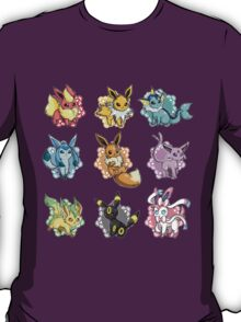 eeve's evolutions mosaic T-Shirt