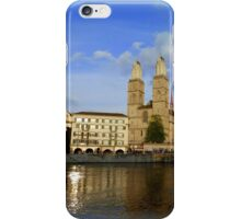 Limmat at Dusk iPhone Case/Skin