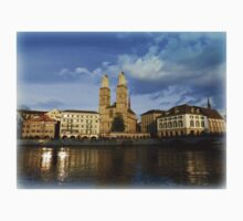 Limmat at Dusk Kids Clothes