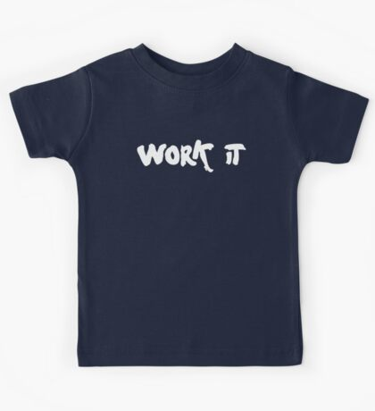work it  - one direction style!! Kids Tee