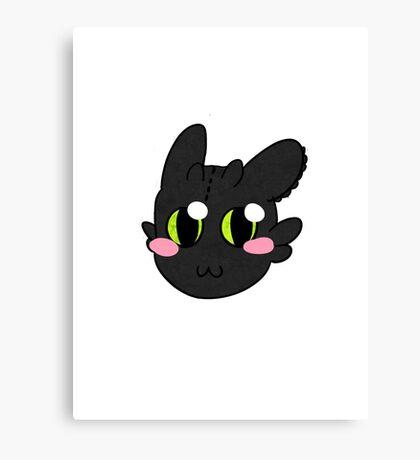 Chibi Toothless Canvas Print