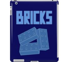 Blue Bricks, Customize My Minifig iPad Case/Skin