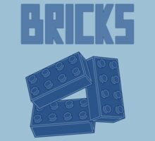 Blue Bricks, Customize My Minifig One Piece - Short Sleeve