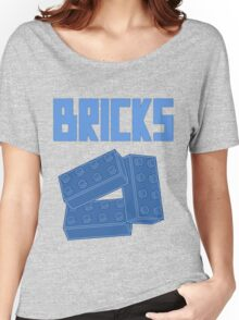 Blue Bricks, Customize My Minifig Women's Relaxed Fit T-Shirt