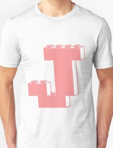 THE LETTER J, Customize My Minifig Unisex T-Shirt