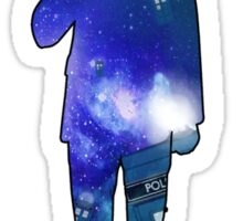 Matt Smith - Galaxy  Sticker
