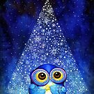 Owl Wish Upon a Star by Annya Kai