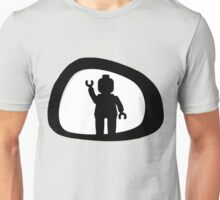 View from a Car Wing Mirror Unisex T-Shirt
