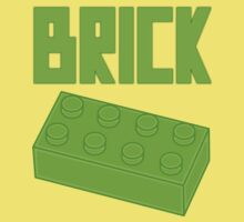 Green Brick, Customize My Minifig Baby Tee