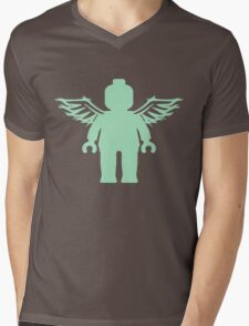 ANGEL MINIFIG Mens V-Neck T-Shirt