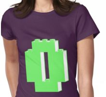 THE LETTER O, Customize My Minifig Womens Fitted T-Shirt