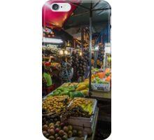 Kuala Lumpur Street Stalls iPhone Case/Skin