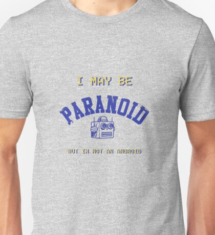 Paranoid Android - Radiohead - Blue version Unisex T-Shirt