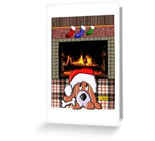 Is That You, Santa? Greeting Card