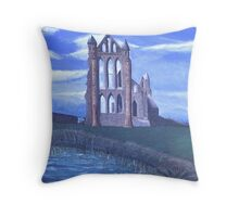 Old Ruins II Throw Pillow