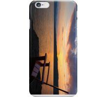 Sunset - Adirondack Chair - Basin Harbor Resort iPhone Case/Skin