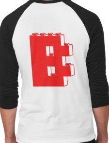 THE LETTER B, Customize My Minifig Men's Baseball ¾ T-Shirt