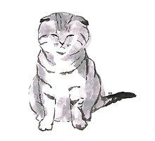 Cute Cat by artofelle