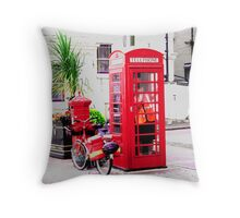 Vision in Red Throw Pillow