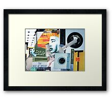 Memories of a Collage. Framed Print