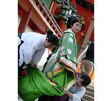 Shinto Bride Photographic Print