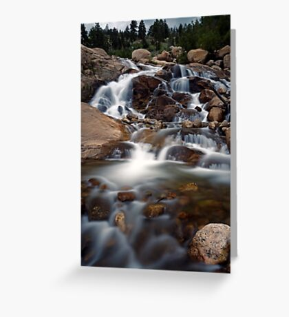 Aluvial Fan - Rocky Mountain National Park Greeting Card