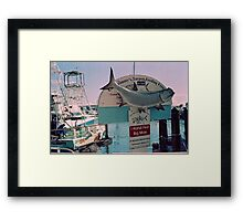 Big Moe Framed Print