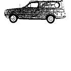 Ford Escort Sundowner Van by garts