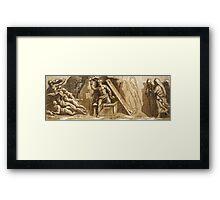Resurrection of Jesus Christ Framed Print