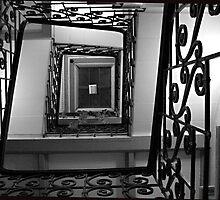 Stairway by Rok Cuder