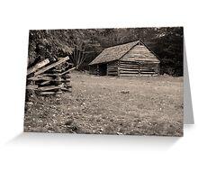 Jim Bales Barn Greeting Card