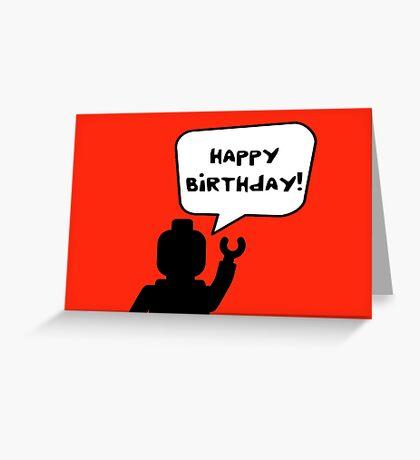 Happy Birthday Greeting Card Greeting Card