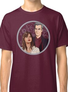 The Twelfth Doctor and Clara Oswald Classic T-Shirt