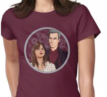 The Twelfth Doctor and Clara Oswald Womens Fitted T-Shirt
